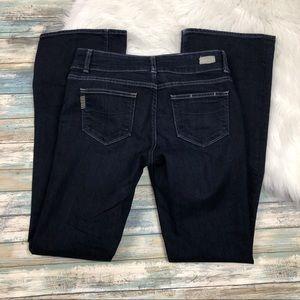 Paige Hidden Hills Dark Wash Bootcut Jeans